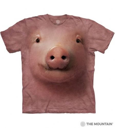 Pig Face T-shirt | The Mountain®